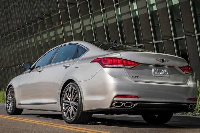 Компания Hyundai рассекретила характеристики седана Genesis G80